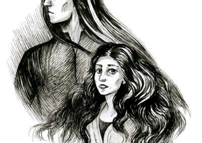 Hladová přání ilustrace #3