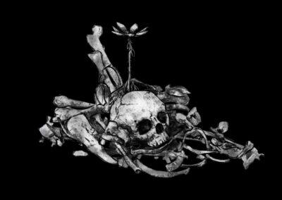 Žaneta Kortusová - Květ pouště (medailon)